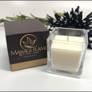 HOT OIL MASSAGE Aromatic Spa Candle Lavender